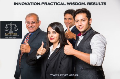 Team of Indian lawyers.